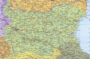 Карта: Болгария
