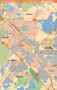 Карта Люберцы (№2)