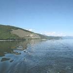 Байкал, фото с лодки