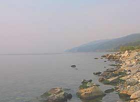 Утро на Байкале