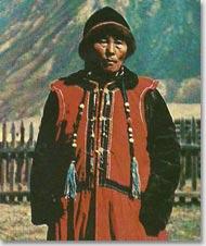 Национальная одежда жителей Южной Сибири