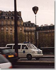 Если произошел несчастный случай во время пребывания в Париже