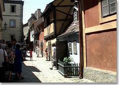 Золотая Улочка и еще несколько достопримечательностей Праги