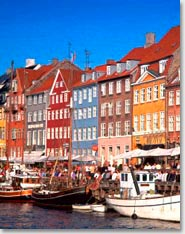 Города Дании