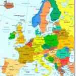 Страны Европы, список по алфавиту
