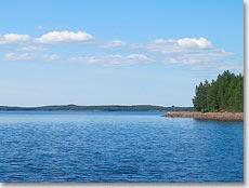По озерам Финляндии на пассажирском судне