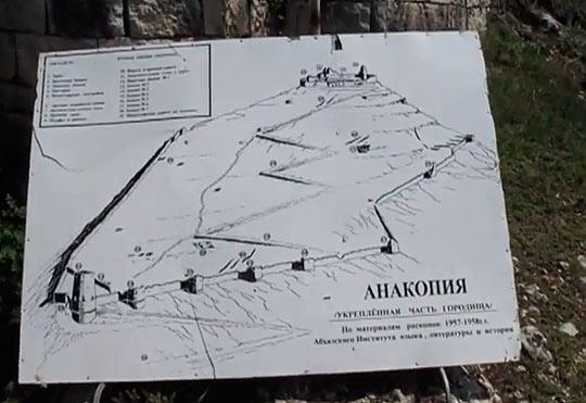 Как добраться до Анакопийской крепости
