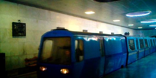 Экскурсия на поезде по пещере