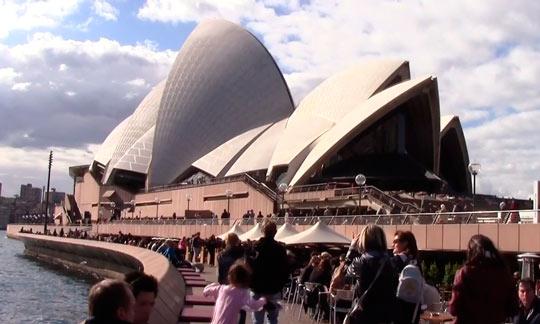 Сиднейский оперный театр 02