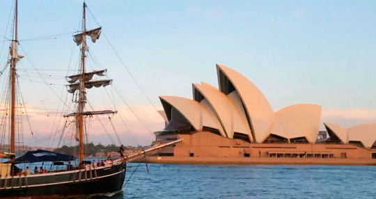 Сиднейский оперный театр 06