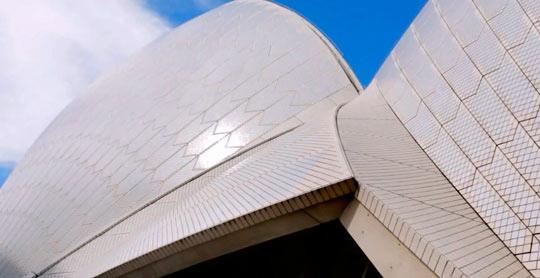 Крыша Сиднейского оперного театра