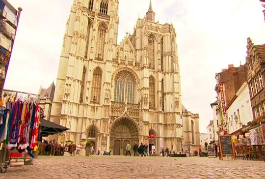 Улочки Антверпена