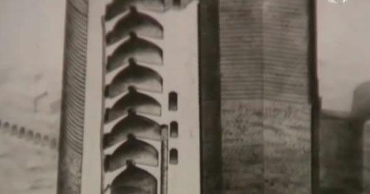 Девичья башня в разрезе