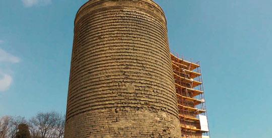 Реставрация Девичьей башни