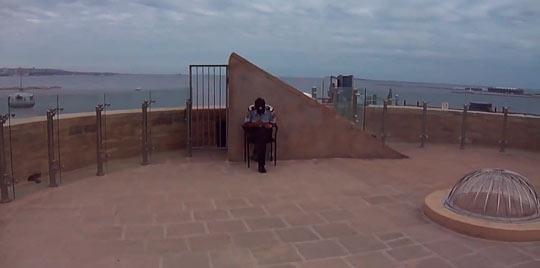 Девичья башня, смотровая площадка 2