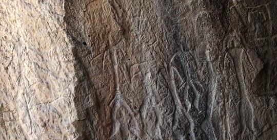 Датируются наскальные рисунки восьмым тысячелетием до нашей эры