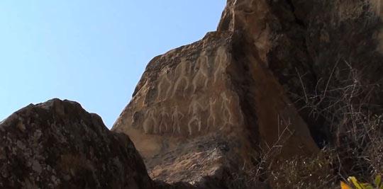 Рисунки на скалах Гобустана