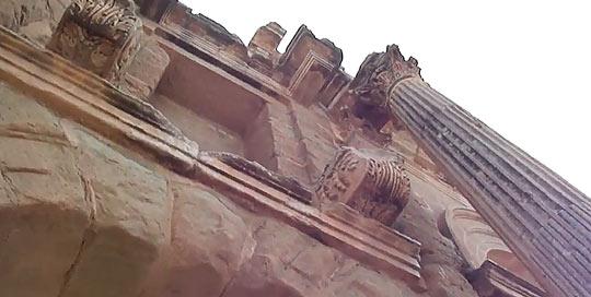 Развалины Тимгада