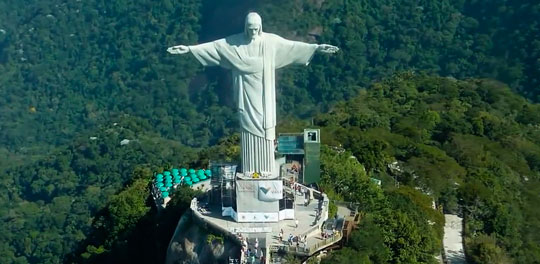 Статуя Христа Искупителя 7