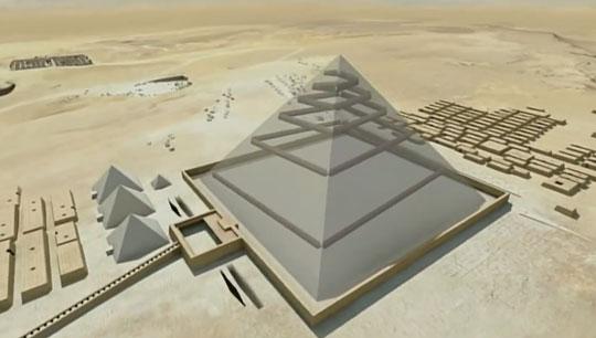 Пирамида Хеопса находится непосредственно в том месте, которое указывает на все четыре стороны света