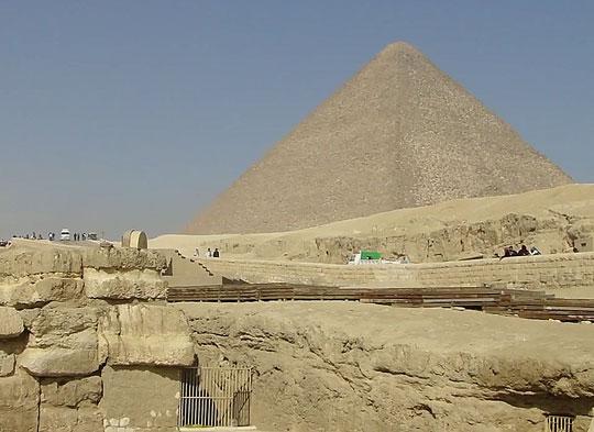Пирамида Хеопса 3