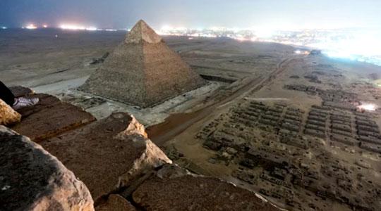 Где находится Пирамида Хеопса