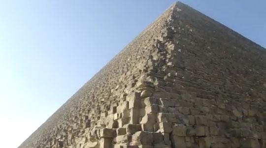 Стены Пирамиды Хеопса