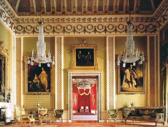 Букингемский дворец внутри 3