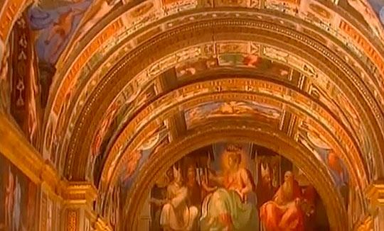 Библиотека Эскориала занимает второе место после Ватикана