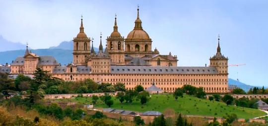 Строительство Эскориала длилось с 1563 до 1584 год