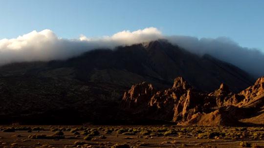 Потрясающие виды на вулкан Тейде