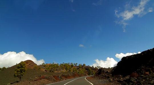 Дорога на вулкан Тейде 2