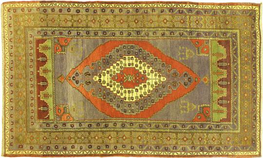 Турецкий ковер ручной работы