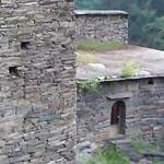 Село-крепость Шатили в Грузии
