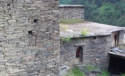 Село-крепость Шатили