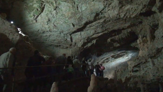 Новоафонская пещера 7