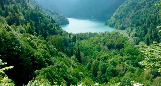 Озеро Рица 6