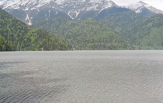 Озеро Рица 9
