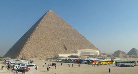 Мы на пирамиде Хеопса