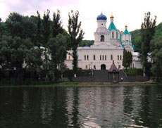 Святогорье - жемчужина Донбасса