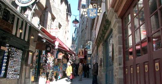 Главная улица острова