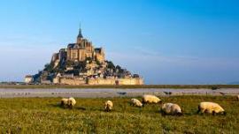 Мон-Сен-Мишель - остров-замок