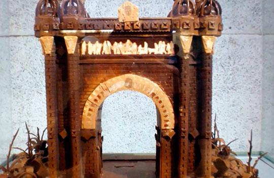 Музей шоколада в Барселоне-26