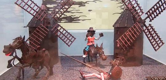 Музей шоколада в Барселоне-1