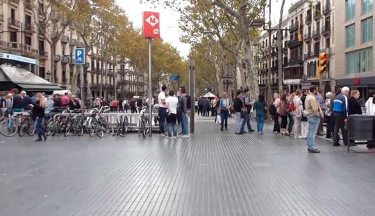 Район Ла Рамбла — это центральная часть города