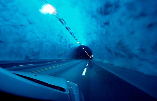 Туннель Лаэрдал - сокровище Норвегии