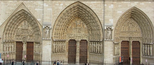 Ворота в собор