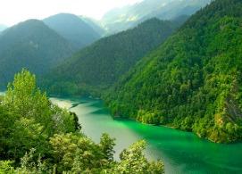 Самое красивое озеро в Абхазии