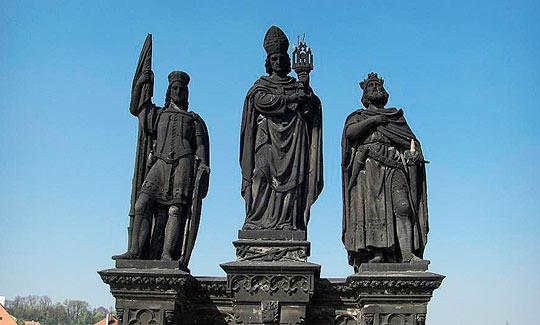 Святой Сигизмунд, Святой Вацлав, Святой Норберт