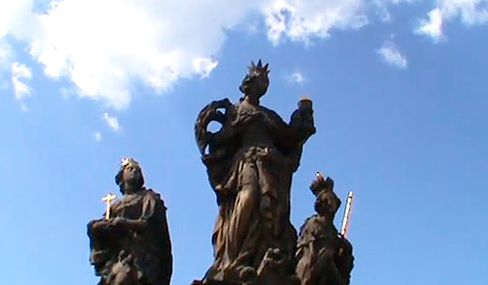 Святые – Варвара, Маргарита и Елизавета